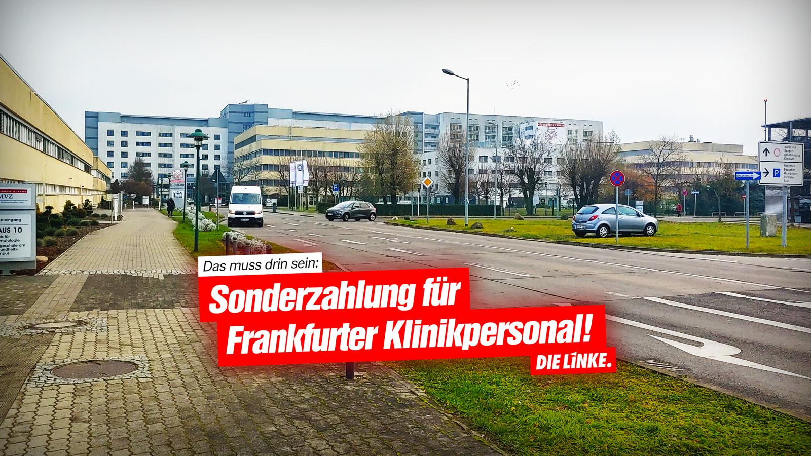 klinikum frankfurt oder corona sonderzahlung