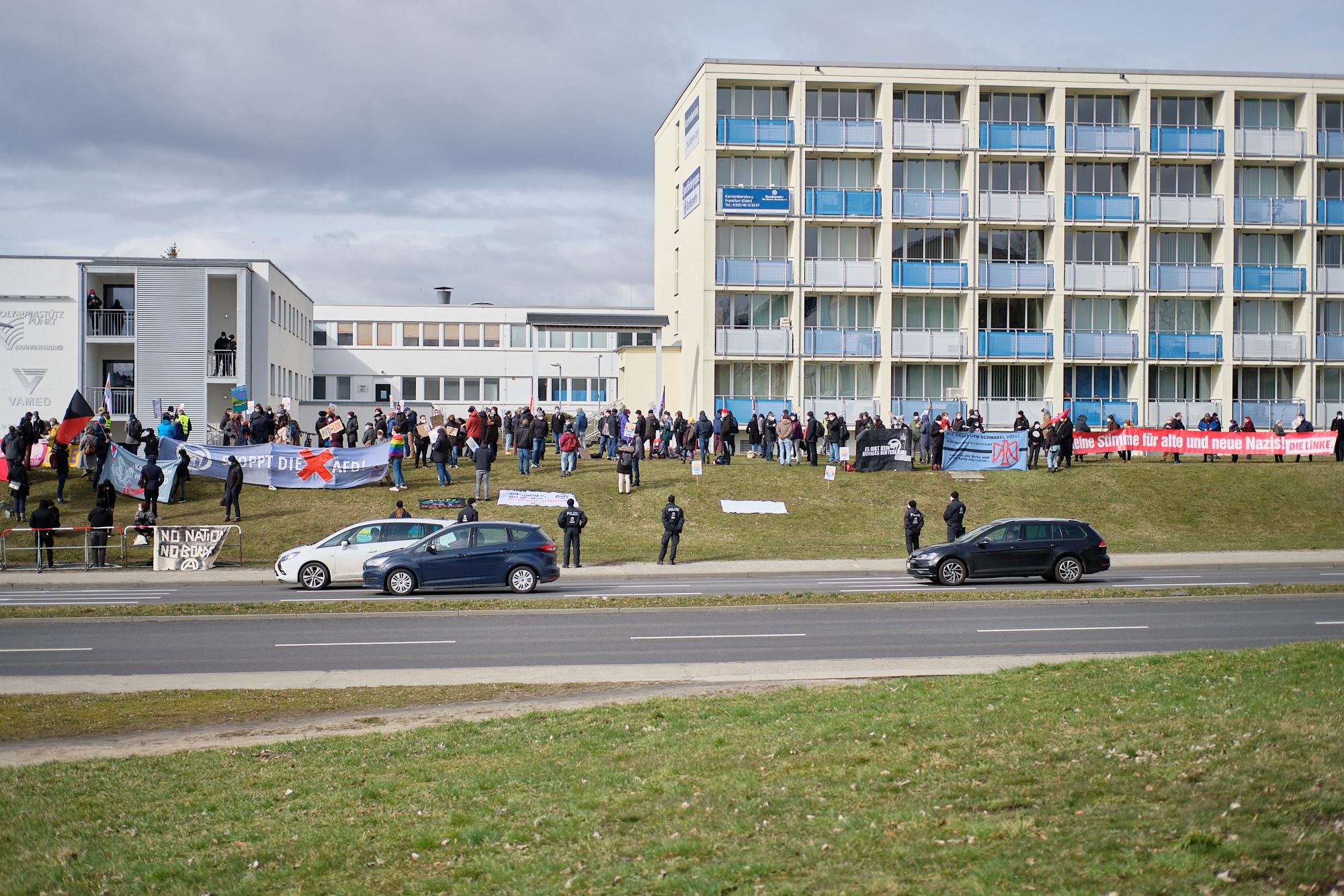 Bild der Kundgebung